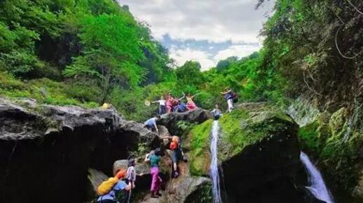 湖北宜都九凤谷风景旅游区游线设计